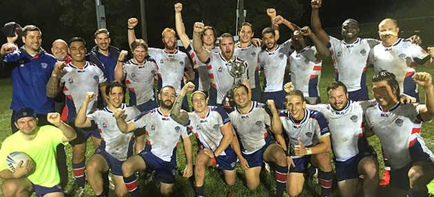 Hawks continue winning streak reclaiming the Colonial Cup