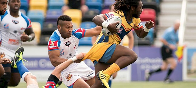 SOUTH Conference Atlanta Rhinos and Jacksonville Axemen win away games