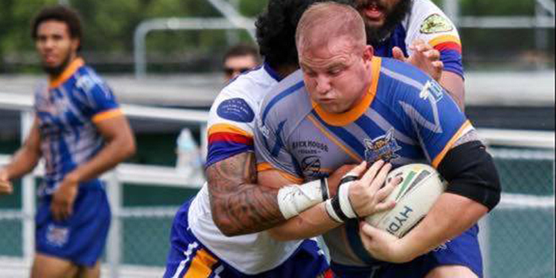 Justin Branca Military Man to Mayhem Rugby League