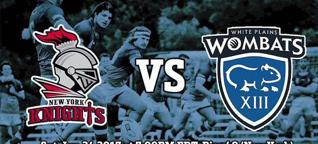 New York Knights vs White Plain Wombats preview