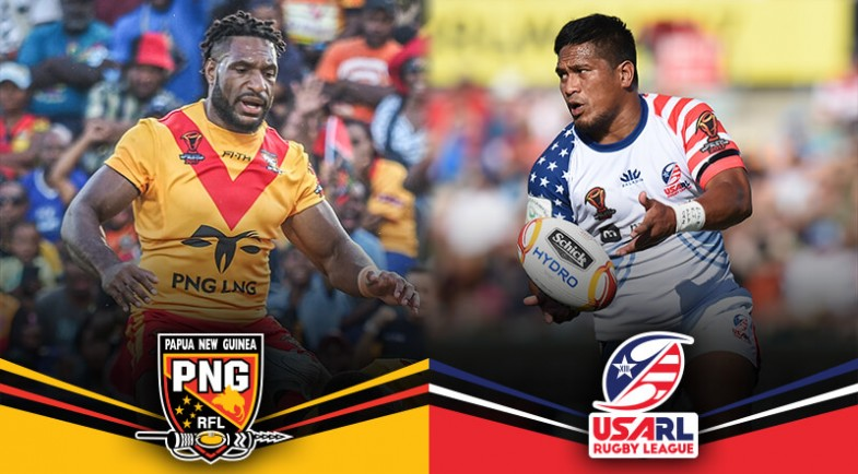 Match Preview Png Vs Usa Usa Rugby League