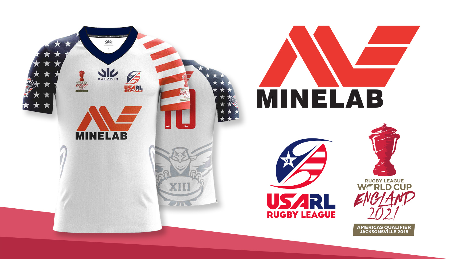 Minelab partners with USA for title sponsorship at Rugby League World Cup Americas Qualifiers