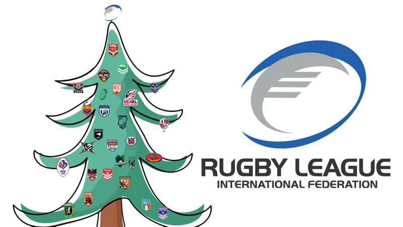 Best Wishes for 2019 From The Rugby League International Federation