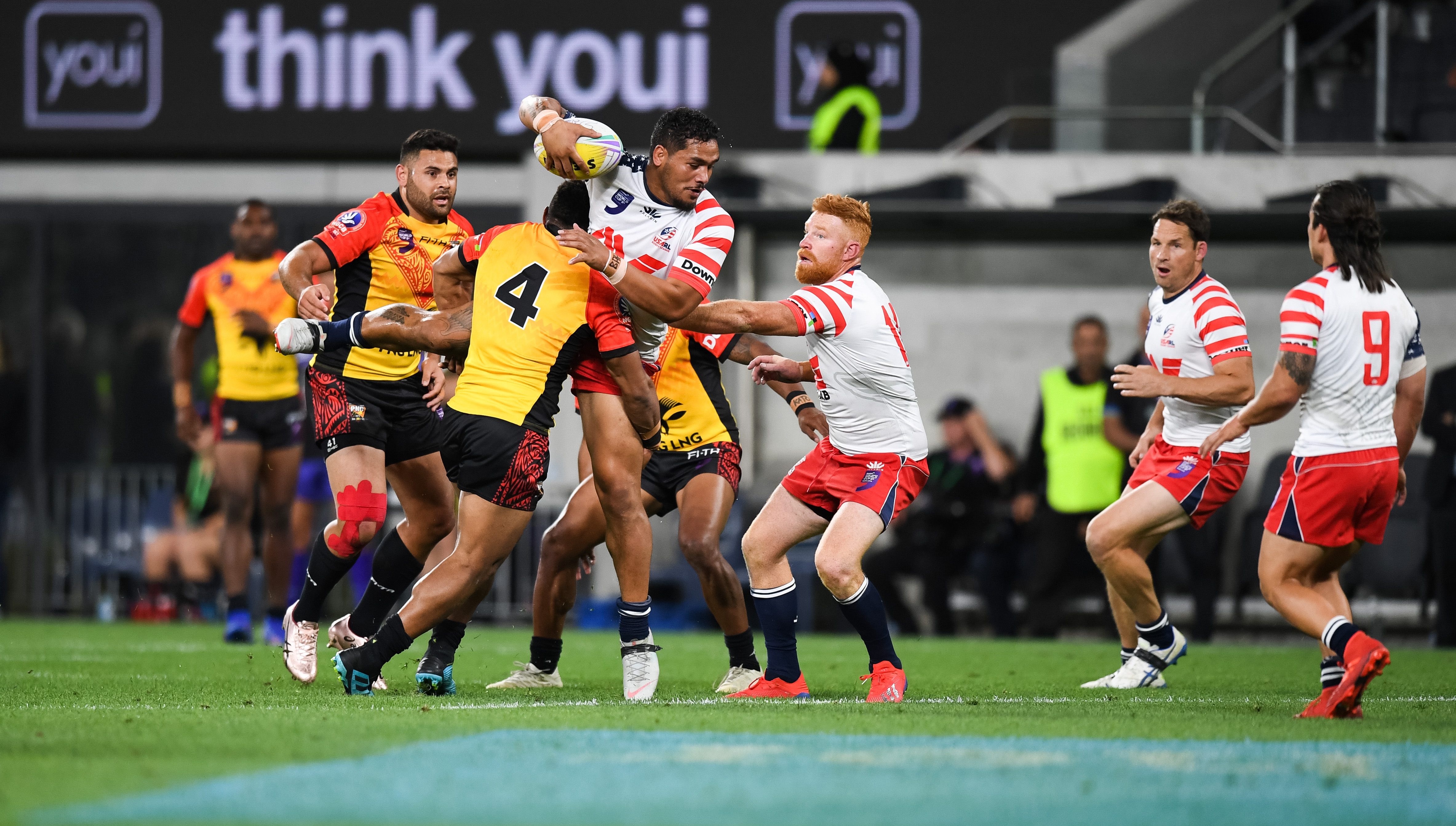 USA lose but young NRL star gives Hawks a boost