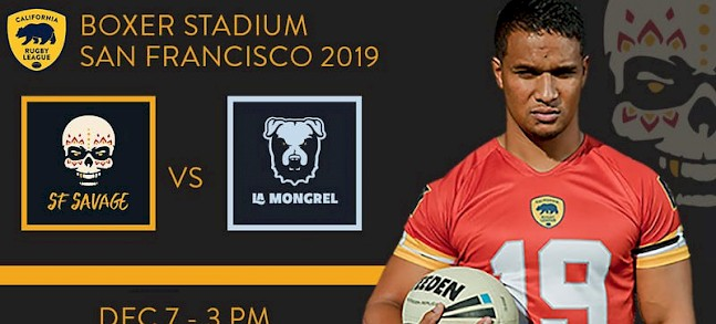California Rugby League prepares for December 7 blast-off